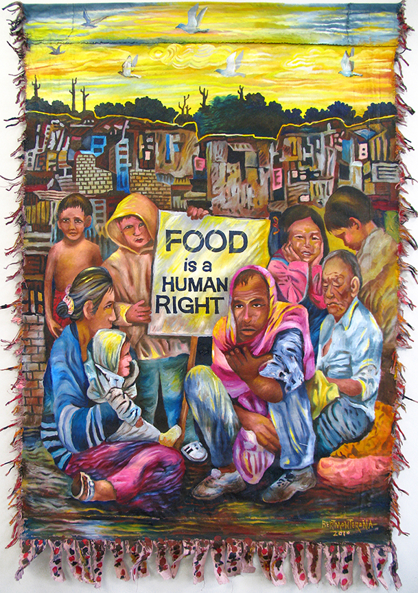 Bert Monterona Food is a Human Right 2